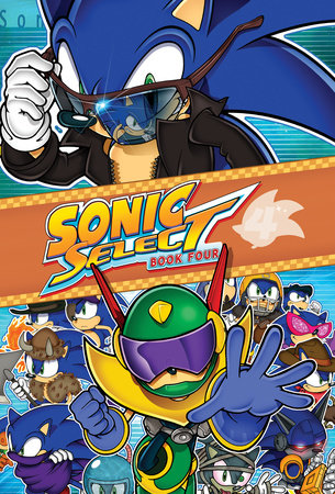 Sonic Select Book 4: Zone Wars by Sonic Scribes