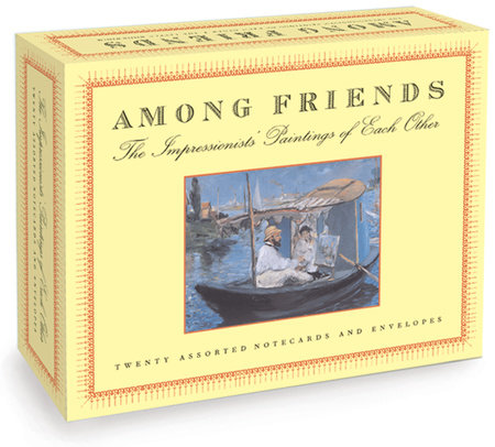 Among Friends, A Postcard Book by