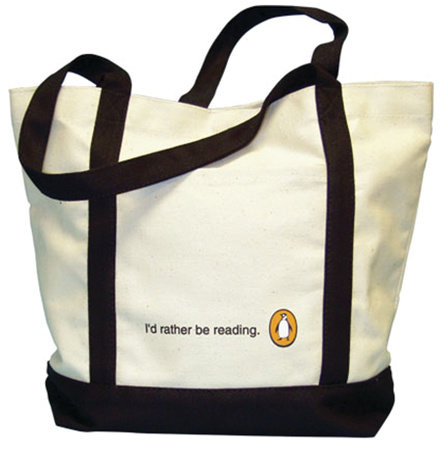Tote: I'd Rather Be Reading (White) by Penguin Merchandise