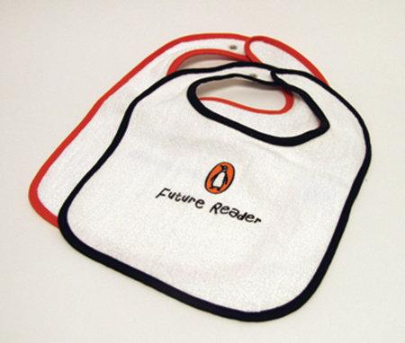 Bib: Future Reader (Black Trim) by Penguin Merchandise