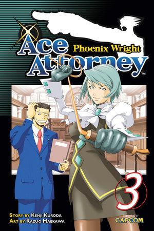 Phoenix Wright: Ace Attorney 3 by Kenji Kuroda
