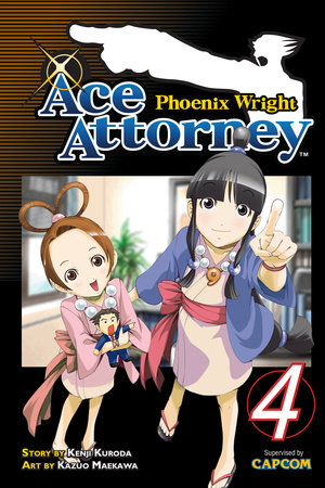 Phoenix Wright: Ace Attorney 4 by Kenji Kuroda