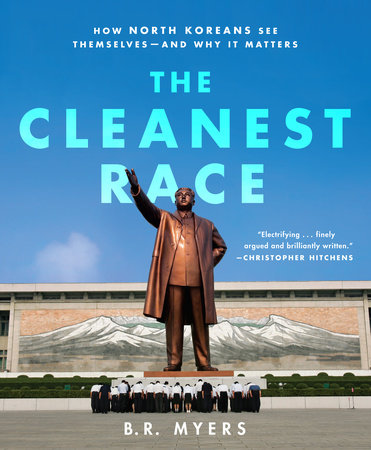 The cover of the book The Cleanest Race