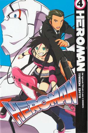 HeroMan, volume 4 by