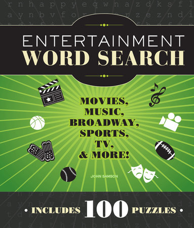 Entertainment Word Search by John M. Samson