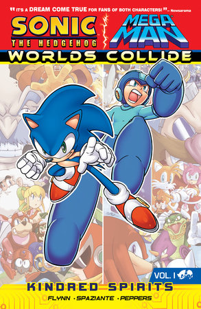 Sonic / Mega Man: Worlds Collide 1 by Sonic/Mega Man Scribes