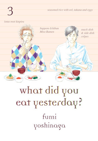 What Did You Eat Yesterday?, Volume 3