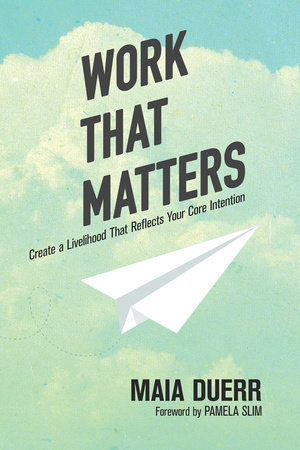 The cover of the book Work That Matters
