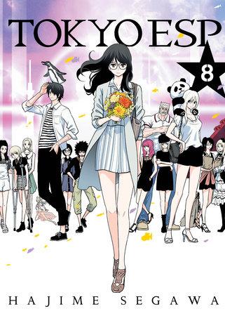 Tokyo ESP, Volume 8 by Hajime Segawa