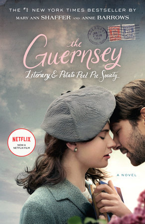 The cover of the book The Guernsey Literary and Potato Peel Pie Society