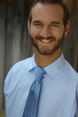 Photo of Nick Vujicic