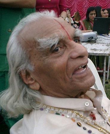 Photo of B.K.S. Iyengar