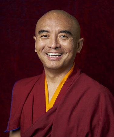 Photo of Yongey Mingyur Rinpoche