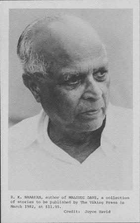 Photo of R. K. Narayan