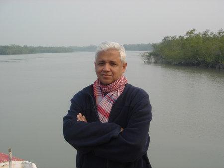 Photo of Amitav Ghosh