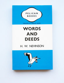 Penguin TriBand Notebook: Words and Deeds