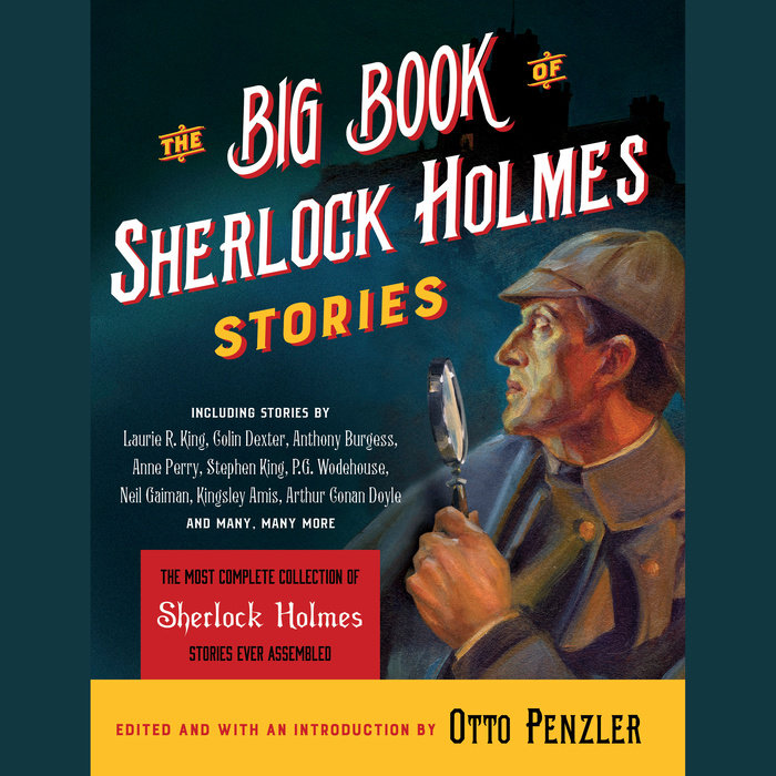 The Big Book of Sherlock Holmes Stories Cover