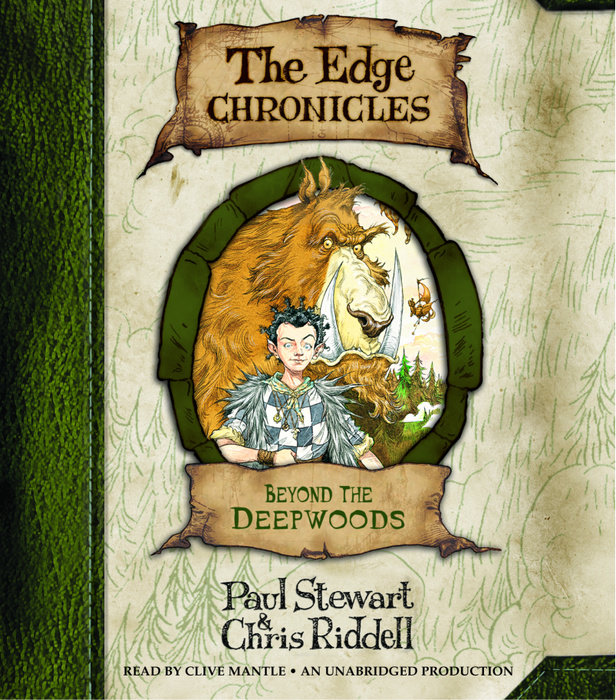 Beyond the Deepwoods: The Edge Chronicles Book 1 Cover