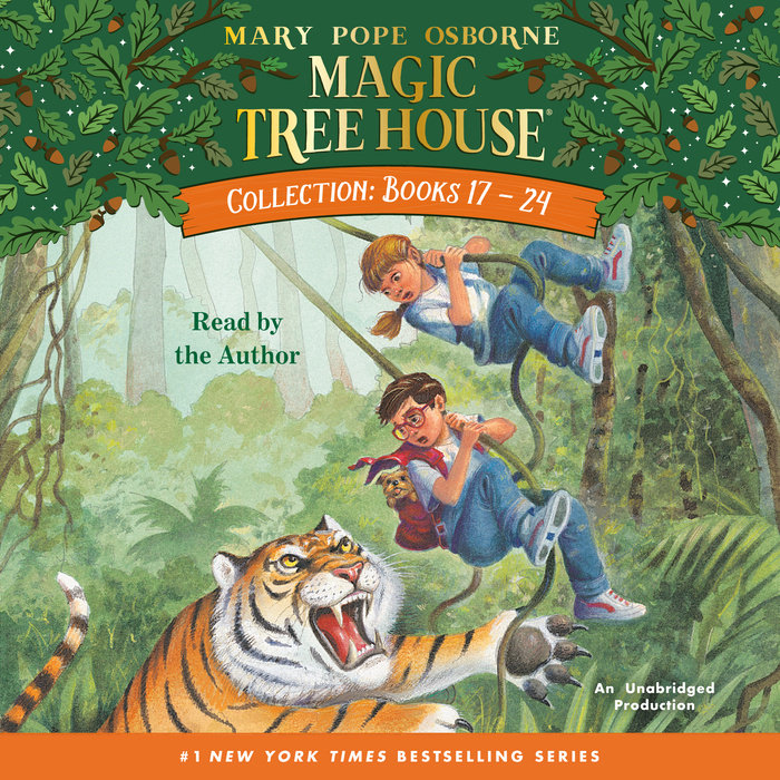 Magic Tree House Collection: Books 17-24 Cover