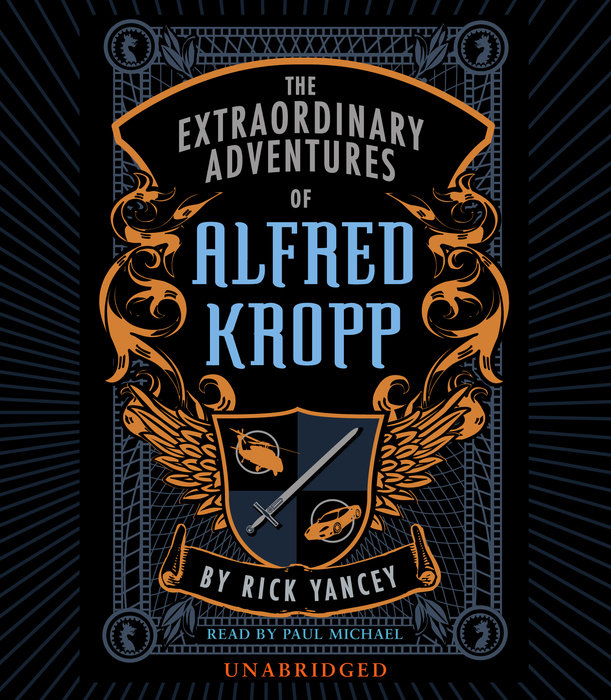 The Extraordinary Adventures of Alfred Kropp Cover