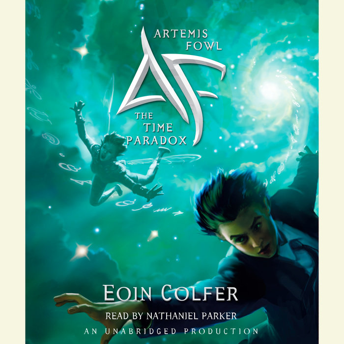 Artemis Fowl 6: The Time Paradox Cover