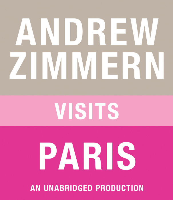 Andrew Zimmern visits Paris Cover