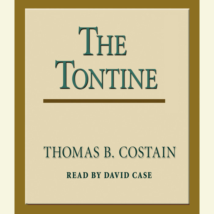 The Tontine Cover