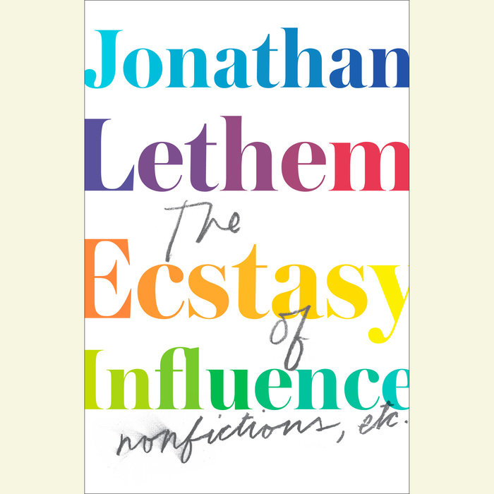 The Ecstasy of Influence Cover