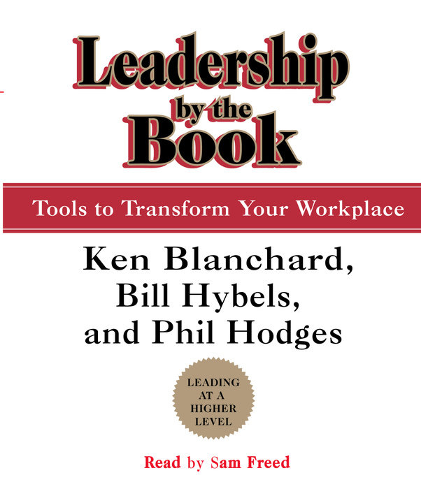 Leadership by the Book Cover