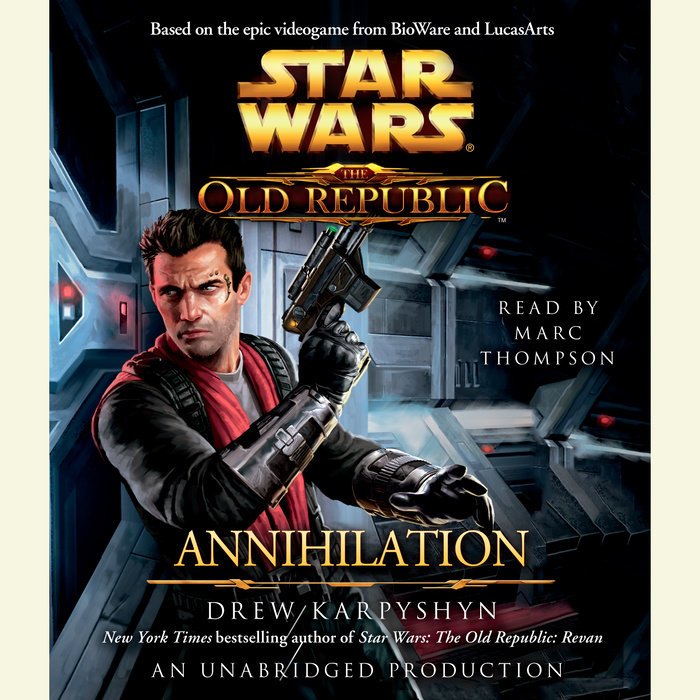 Annihilation: Star Wars Legends (The Old Republic) Cover