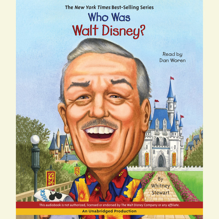 Who Was Walt Disney? Cover