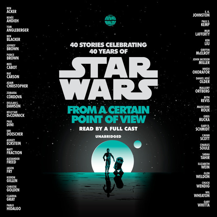 From a Certain Point of View (Star Wars) Cover