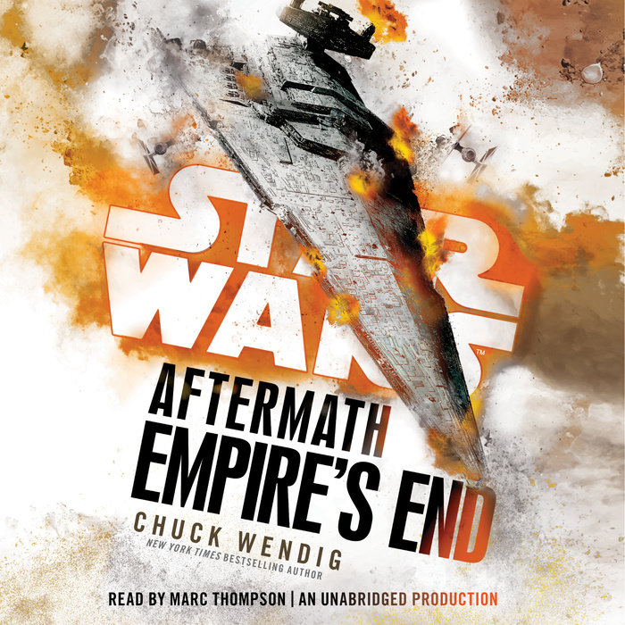 Empire's End: Aftermath (Star Wars) Cover