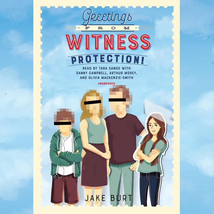 Greetings from Witness Protection! Cover
