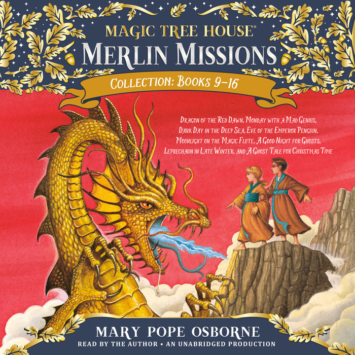Merlin Missions Collection: Books 9-16 Cover
