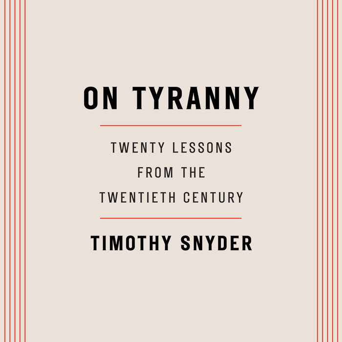 On Tyranny Cover