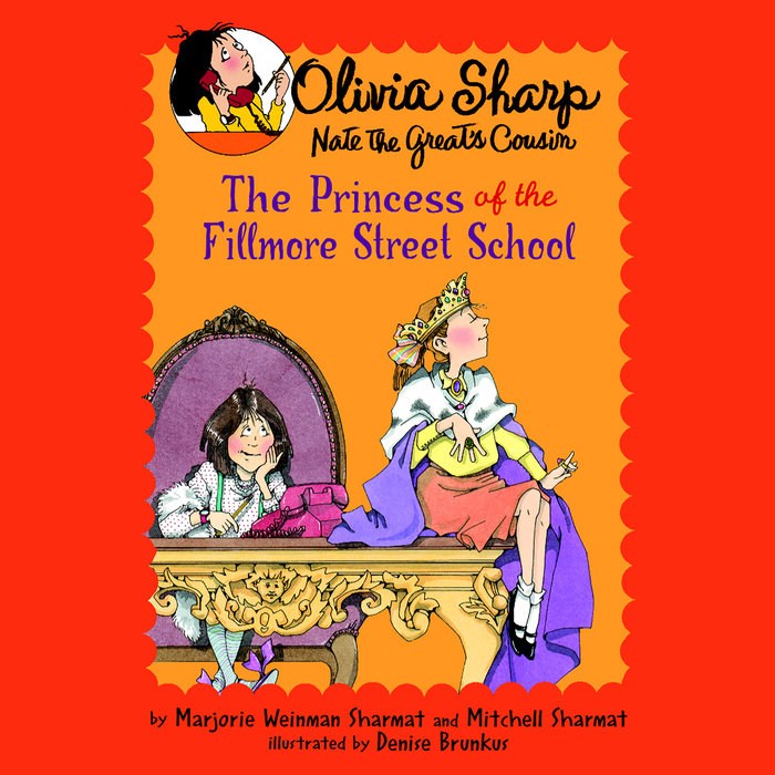 The Princess of the Fillmore Street School Cover