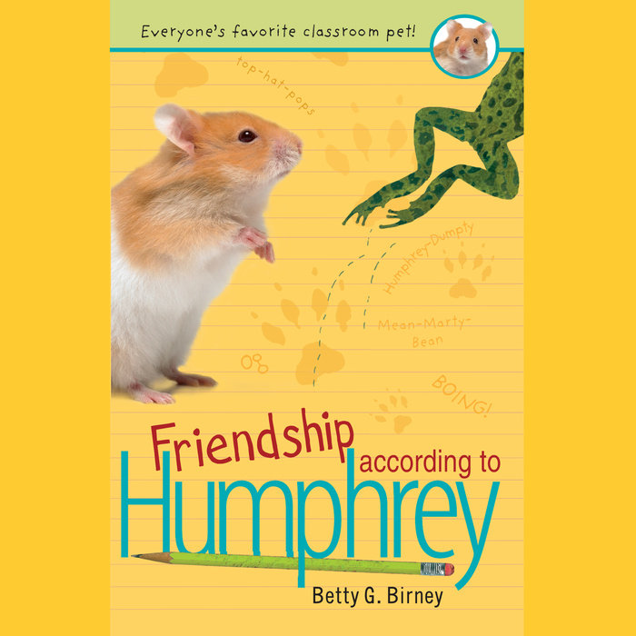 Friendship According to Humphrey Cover