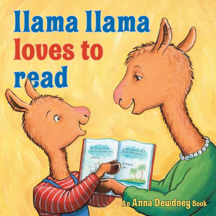 Llama Llama Loves to Read Cover