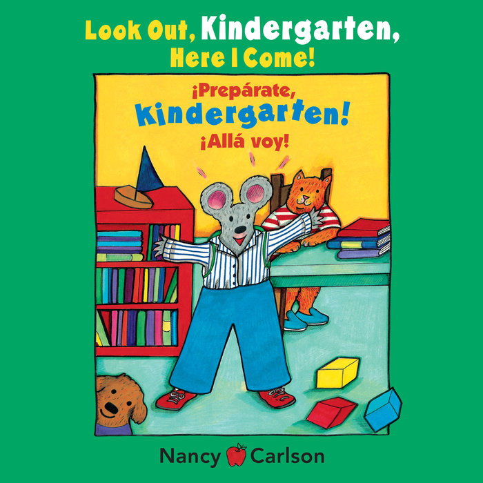 Look Out Kindergarten, Here I Come Cover