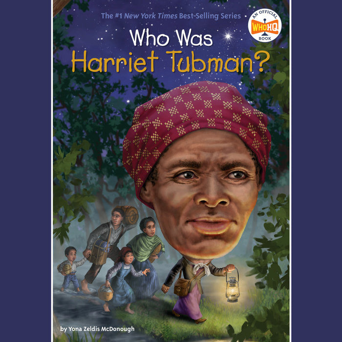 Who Was Harriet Tubman? Cover