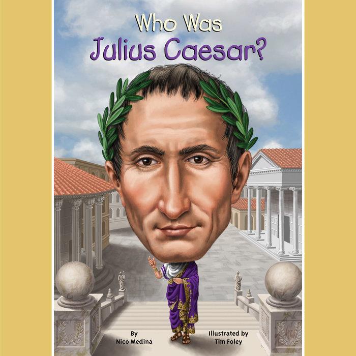 Who Was Julius Caesar? Cover