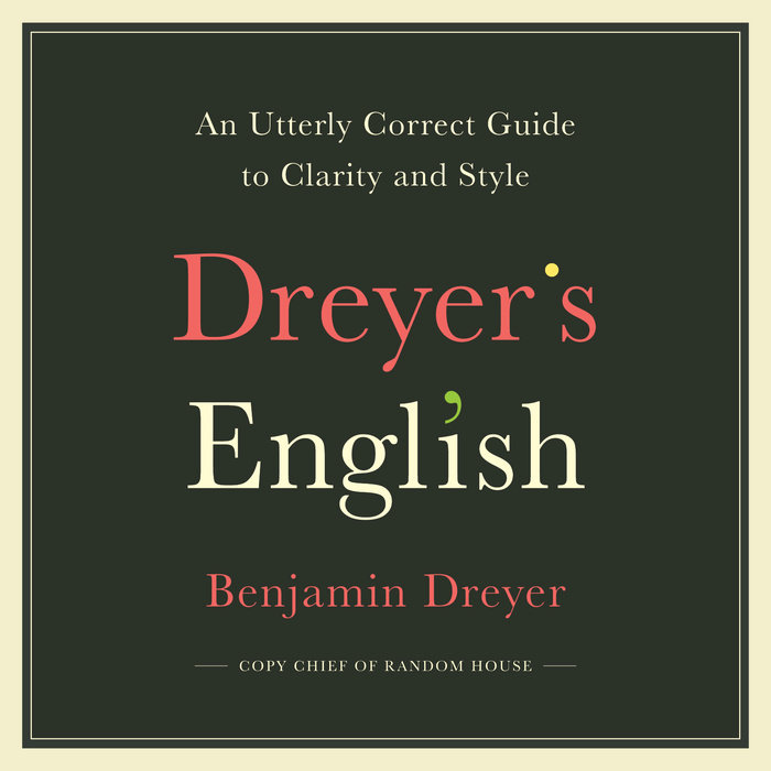 Dreyer's English Cover