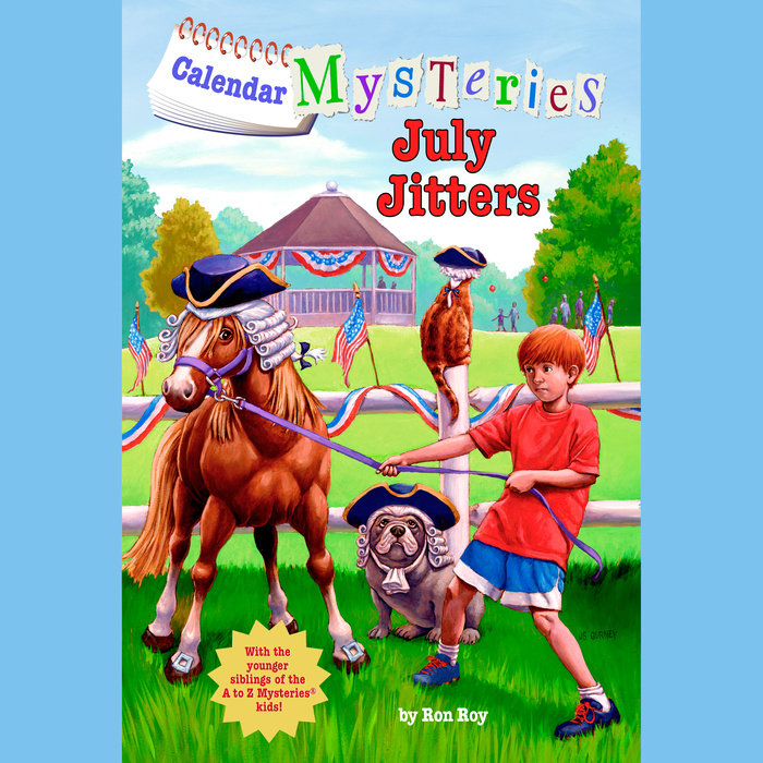 Calendar Mysteries #7: July Jitters Cover