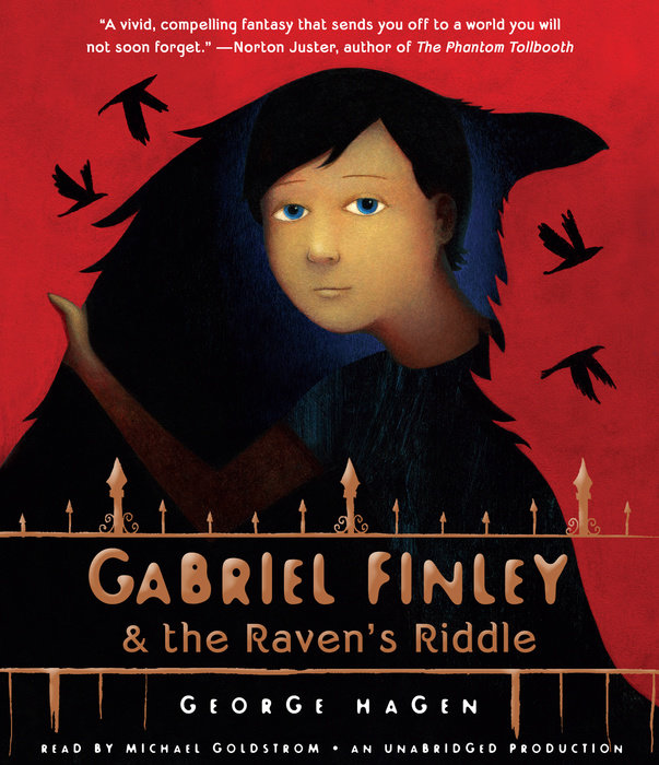 Gabriel Finley and the Raven's Riddle Cover