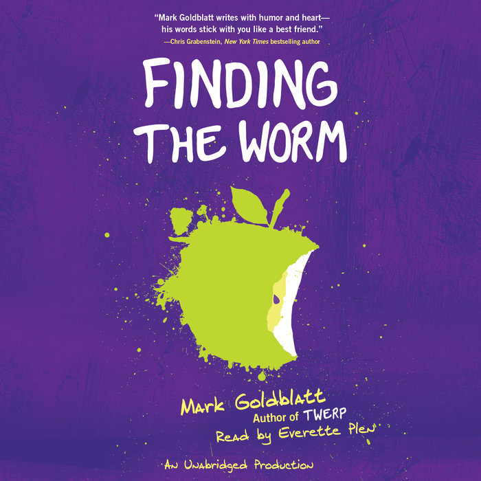 Finding the Worm (Twerp Sequel) Cover
