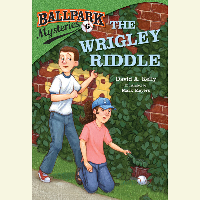 Ballpark Mysteries #6: The Wrigley Riddle Cover