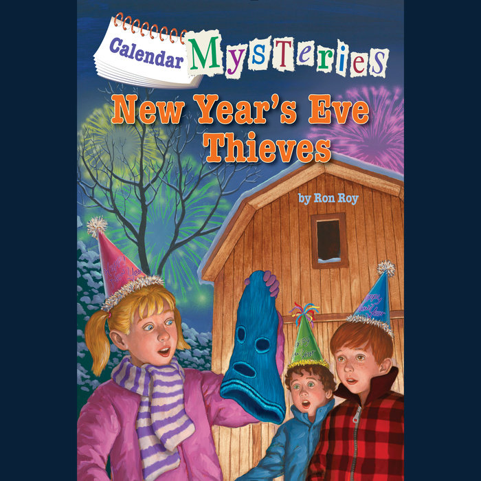 Calendar Mysteries #13: New Year's Eve Thieves Cover