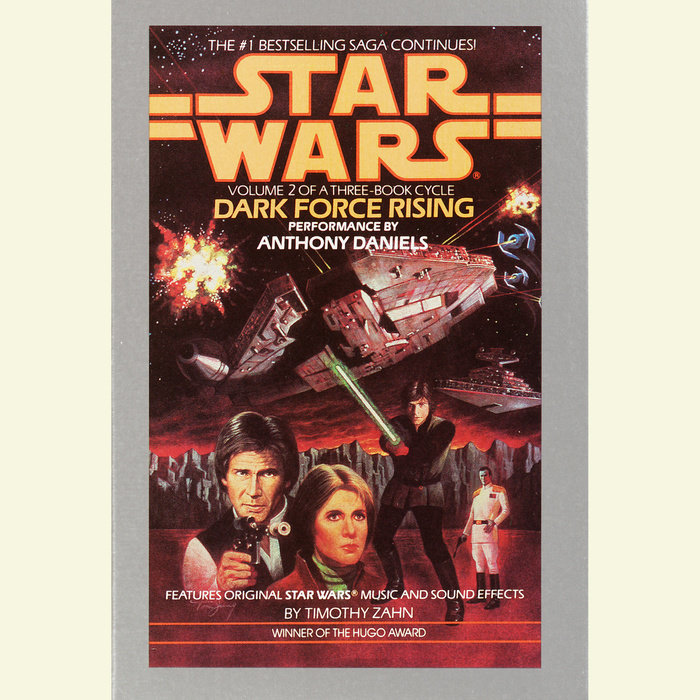 Dark Force Rising: Star Wars (The Thrawn Trilogy) Cover