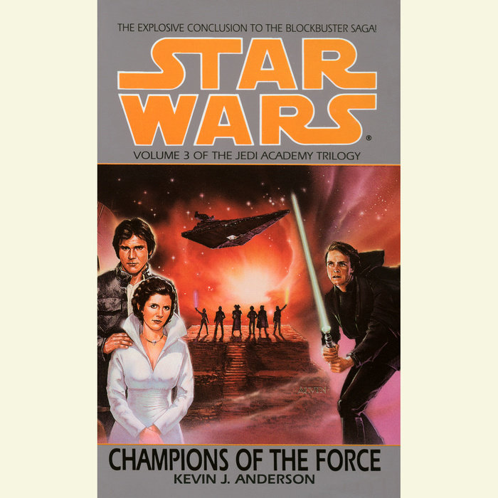 Star Wars: The Jedi Academy: Champions of the Force Cover